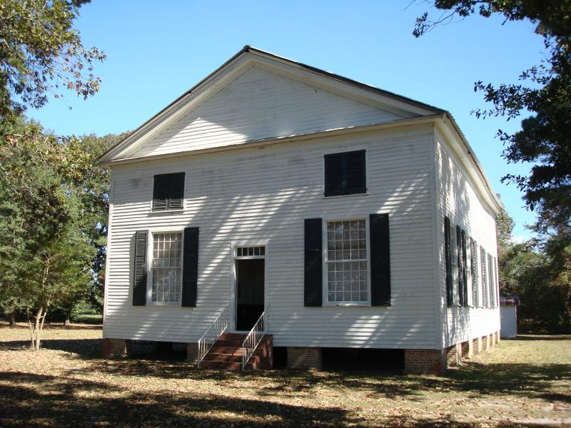 This 19th Century Church was raised to receive a new foundation.