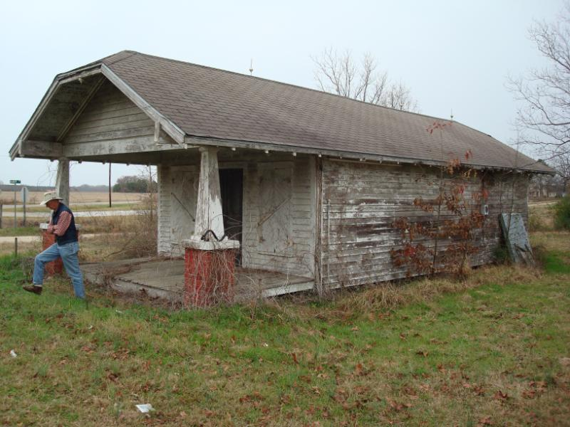 In Bishopville, this old store from the 1900s needed to be moved...