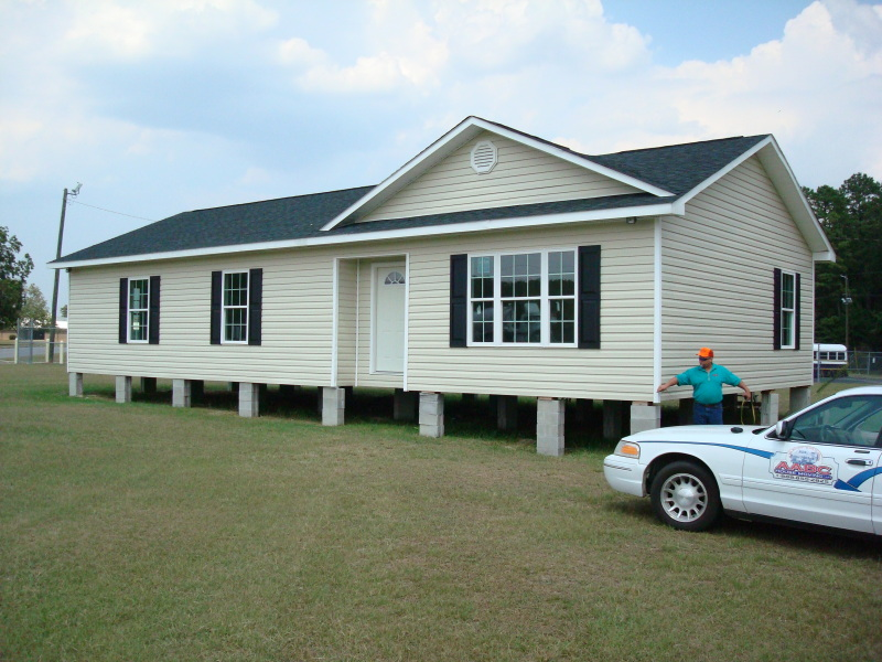 This house was built by students at Batesburg High School.