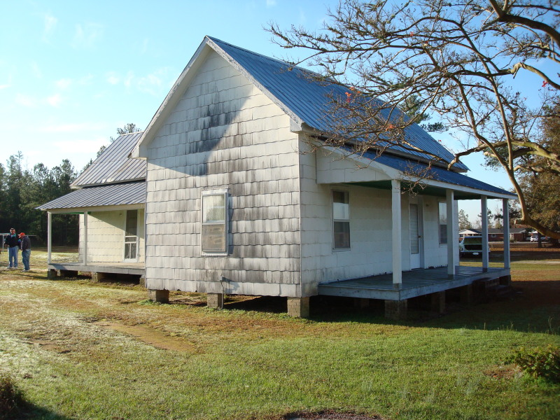 This home will be relocated-- and turned into a barn!