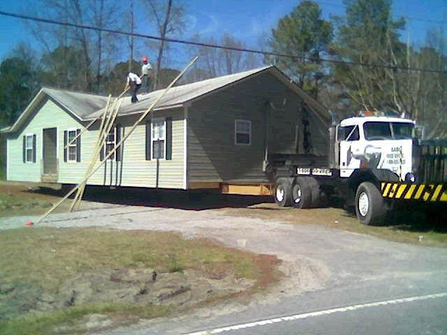 AABC House Moving prepares for low wires in Blythewood.