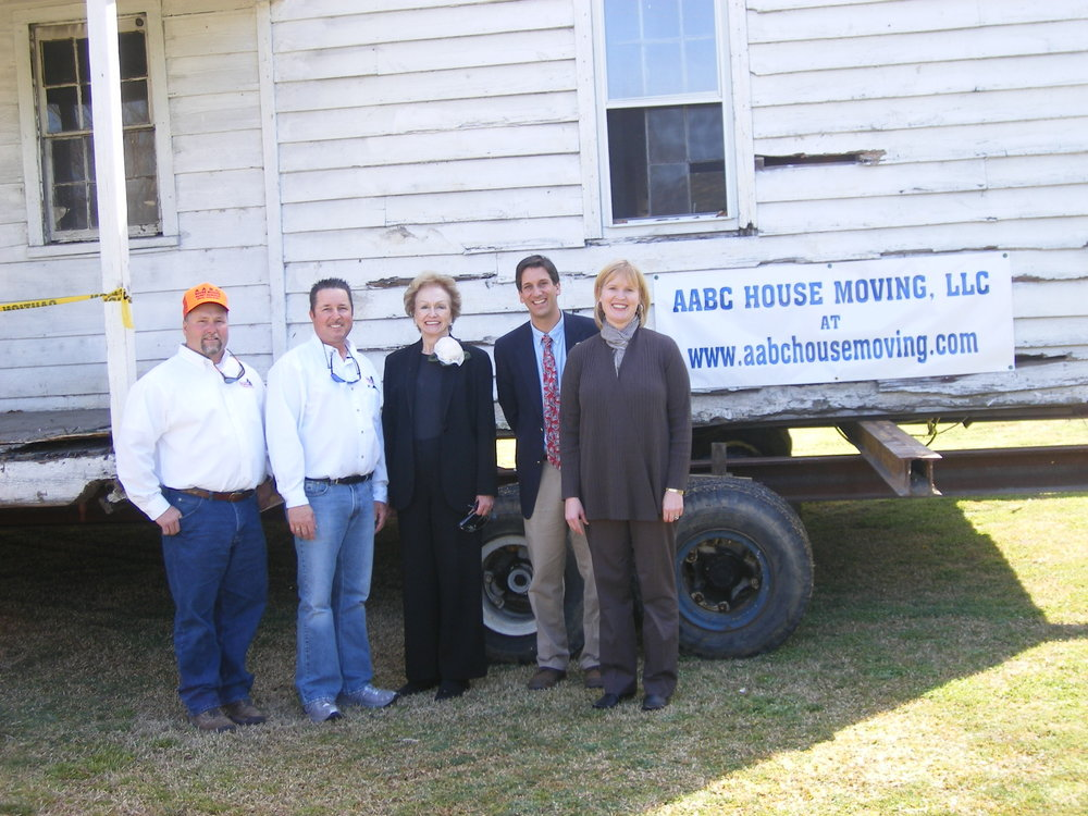 Left to Right: AABC co-owners Haney Hancock and Billy Ward, Camden Mayor Mary Clark, State Senator Vincent Sheheen, and State Representative Laurie Slade-Funderburk