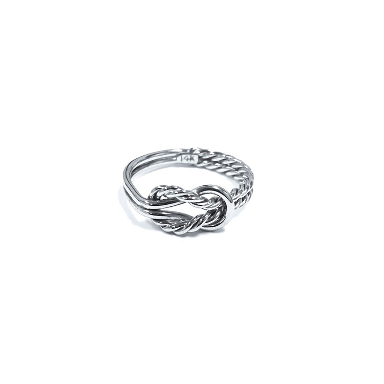 Love knot Rings Celtic Knot Rings, Nautical knot Rings Sailboat ...