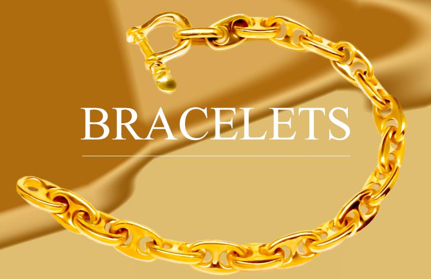 NAUTICAL GOLD BRACELETS