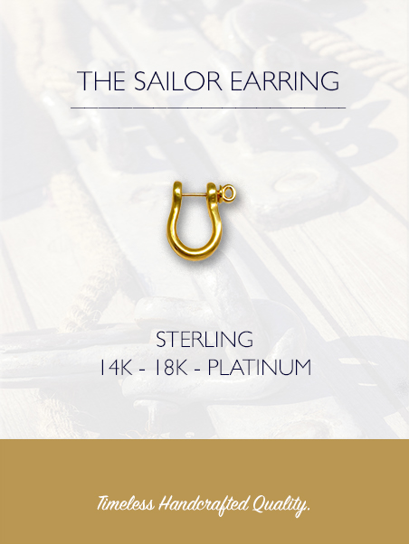 THE SAILOR EARRING, SHOP NOW & SAVE