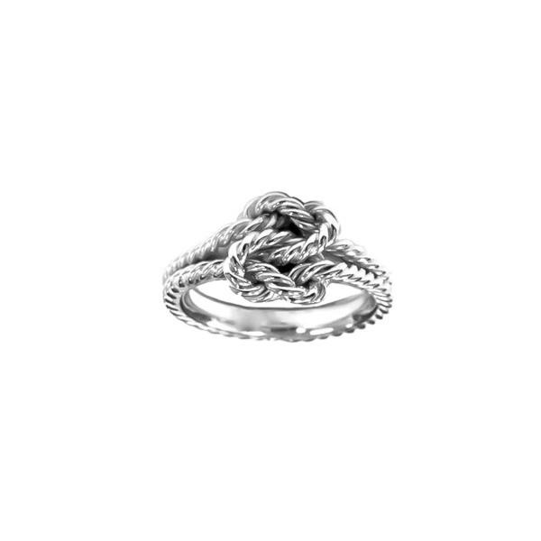 0a5beddb56a9f True Lovers Love Knot Ring Sterling