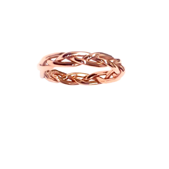 rings danhov ring braided engagement eleganza home