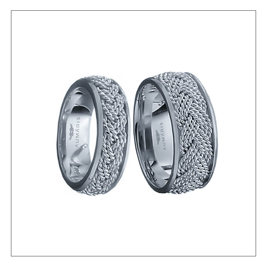 WEDDING BANDS - Our distinctive Hand woven rings are comfortable and durable, designed for life at sea, crafted to order for quality & value. LEARN MORE