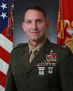 "Colonel (Ret.) Neil Schuehle, MBA- Citadel Liaison - Colonel Schuehle served in the Army National Guard and Reserves from 1984 – 1987. He enlisted in the Marine Corps in 1987. A reconnaissance Marine, he was meritoriously promoted to the ranks of LCpl, Cpl, and Sgt and served in 1st Force Reconnaissance Company. He was selected to the Marine Enlisted Commissioning Education Program and commissioned at The Citadel in August 1992.Colonel Schuehle's Infantry assignments include: Reconnaissance Marine, 1st Force Reconnaissance Company; 81mm Mortar Platoon Commander and Commanding Officer H&S Company, BLT 3/1; Infantry and Reconnaissance Instructor, Marine Aviation Weapons and Tactics Squadron – 1; Commanding Officer Echo Company, 2nd Bn/6th Marines; Operations Officer, 2nd Reconnaissance Battalion/2nd Force Reconnaissance Company; and Operations Officer, 11th MEU(SOC).Colonel Schuehle's Special Operations related assignments include: Regional Support Officer, HQMC; Section Head MAGTF & Special Operations, HQMC; Commanding Officer, 1st Marine Special Operations Battalion, MARSOC; Commandant of the Marine Corps Fellow at the Center for a New American Security (Project on Special Operations); Strategic Analyst, Strategic Initiatives Group, HQMC (SOF desk); US Special Operations Command Liaison Officer to the Counterterrorist Center at the Central Intelligence Agency; Director of Special Operations at US Africa Command; and Commanding Officer of the Special Operations School, MARSOC.His civilian education includes an AA from New Mexico Military Institute, a BA from the Citadel, and a MBA from Webster University.Colonel Schuehle's decorations include the Defense Superior Service Medal, Legion of Merit with gold star, Bronze Star with combat ""V"", the Meritorious Service Medal with gold star, Navy and Marine Corps Commendation Medal with gold star, the Army Commendation Medal, the Navy Achievement Medal, the Combat Action Ribbon with Gold Star, and Good Conduct Medal. He is a member of the Infantry Order of St. Crispin."