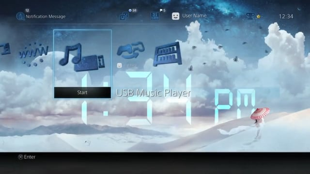 Sony PS4 Dynamic Themes — Nick Small