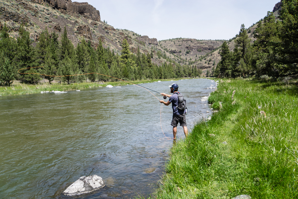 Fly fishing the upper Crooked River