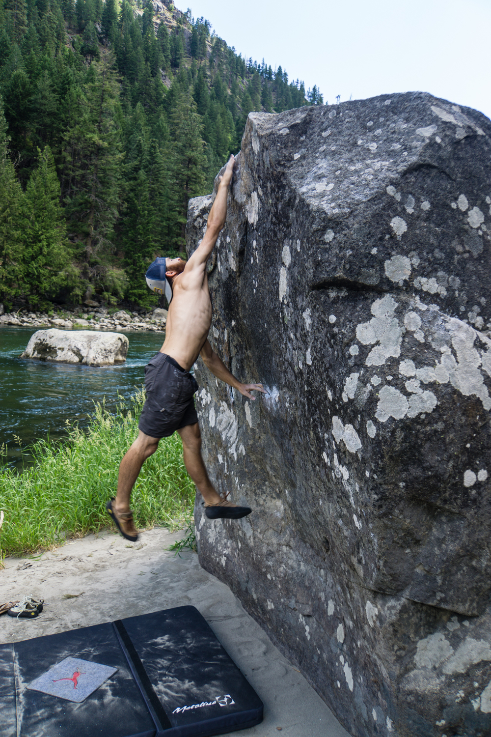 Dyno attempts in Leavenworth, WA