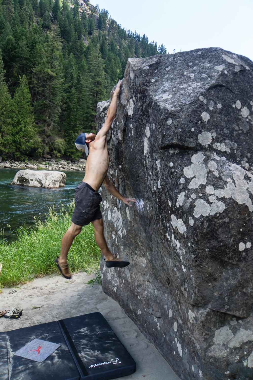 Dyno attempts in Leavenworth, WA