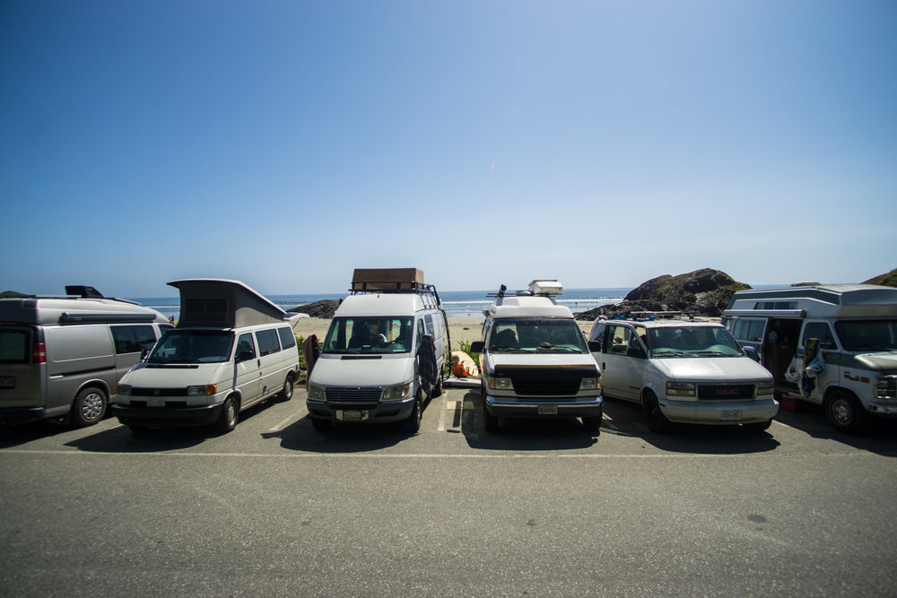 Beach hangs with  HomeSweetVan  and more new friends