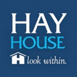 The lovely HayHouse logo I've been staring at these last few months...
