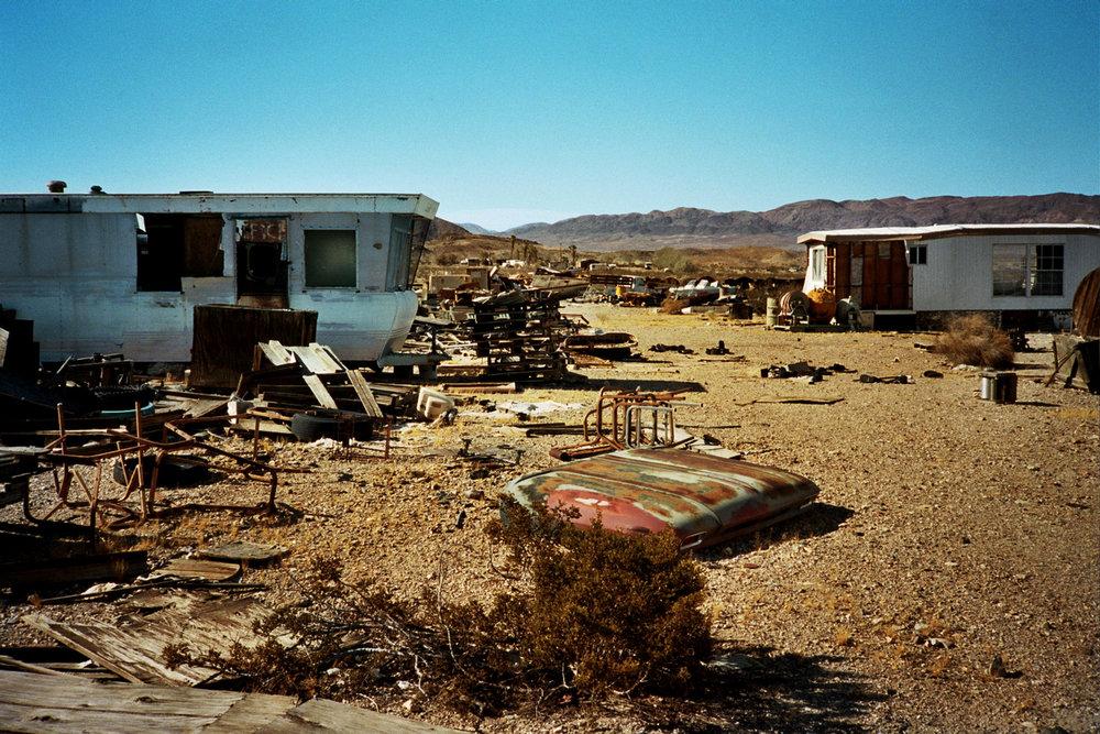 Ghost Town   Mojave Desert