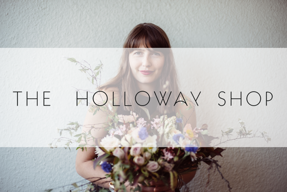The Holloway Shop Floral Designs by Storm Ross Brand Photography by CGScreative