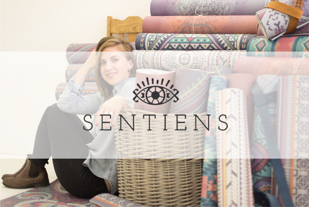 Sentiens Printed Yoga Mats South Africa Brand Photography by CGScreative