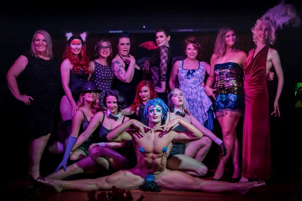 Me and my fabulous cast of the Bambina Encore Revue