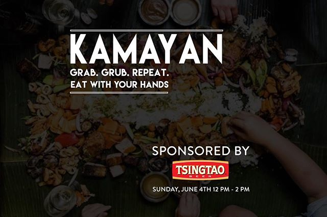 We're less than two weeks to one of our BIGGEST events of this year! KALAN Kitchen will be teaming together with @WeHaveNoodlesLA for a Kamayan Dinner hosted by @EatFeastly. Don't miss out for this rare chance! Every reservation comes with complimentary Tsingtao Beer for this event. Come out and join us for food, beer and music.  RSVP + Details in Bio 👆🏻