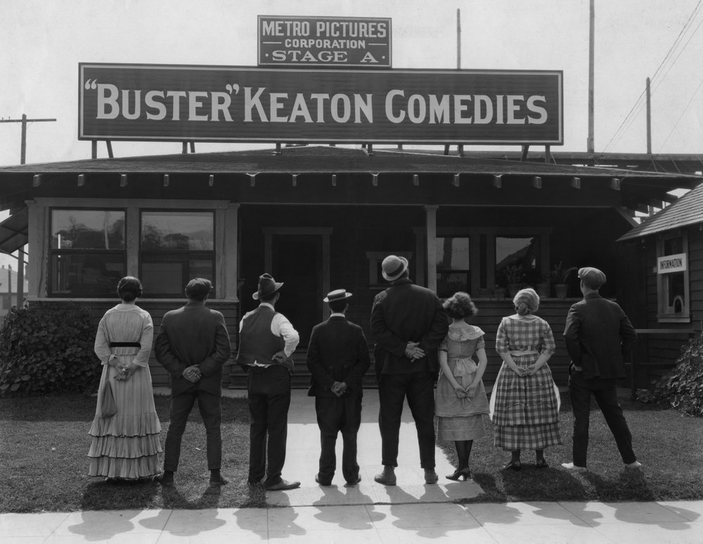 Keaton & crew 1920 PHOTO CREDIT - The International Buster Keaton Society