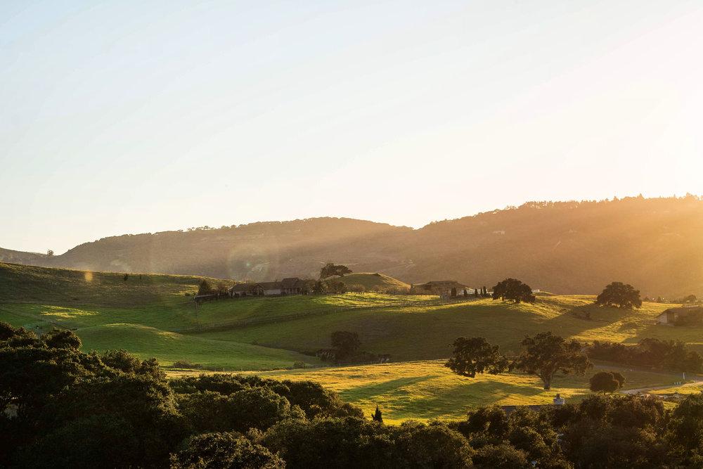 Markham Ranch Sunset.JPG
