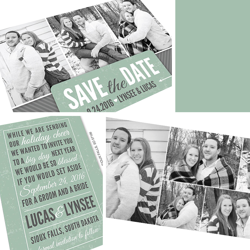Holiday Save the date