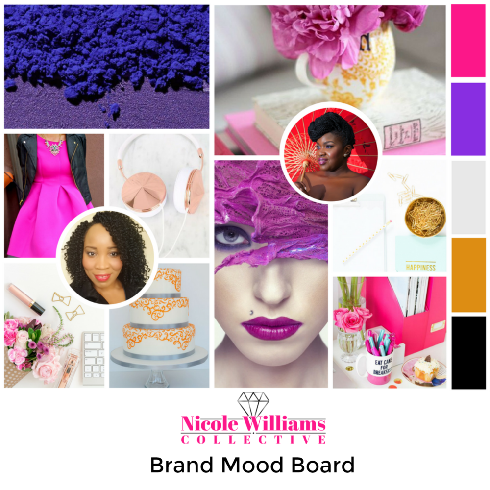 Nicole Williams Collective Brand mood board