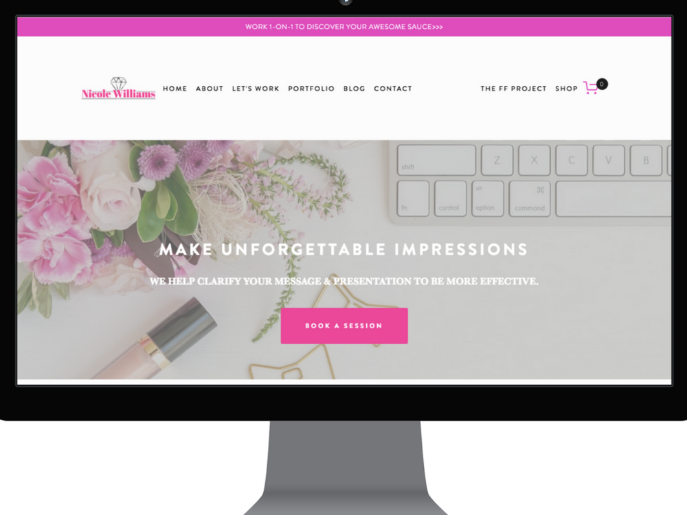 Nicole Williams Collective website