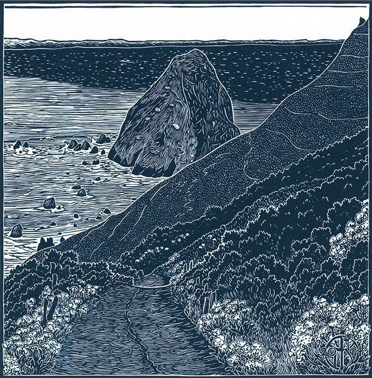 """Cape Mendocino"" by Tom Killion"