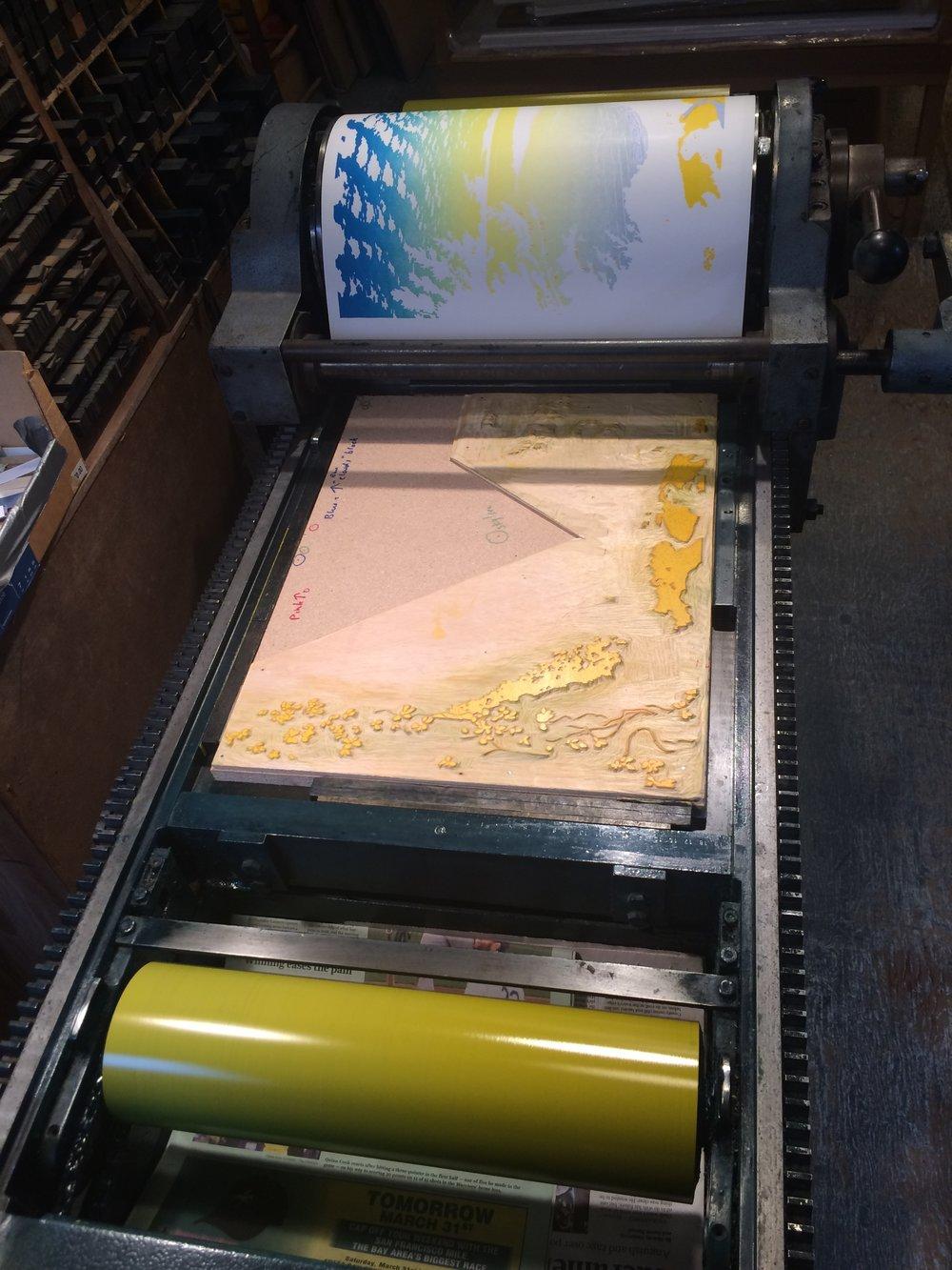 Printing 'Yellow' Block