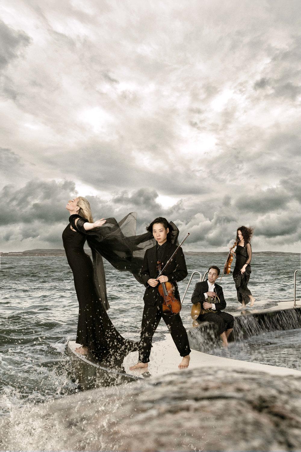 Annalena Persson, Yuki Tashiro, Grégoire Nenert & Heather Levenstein