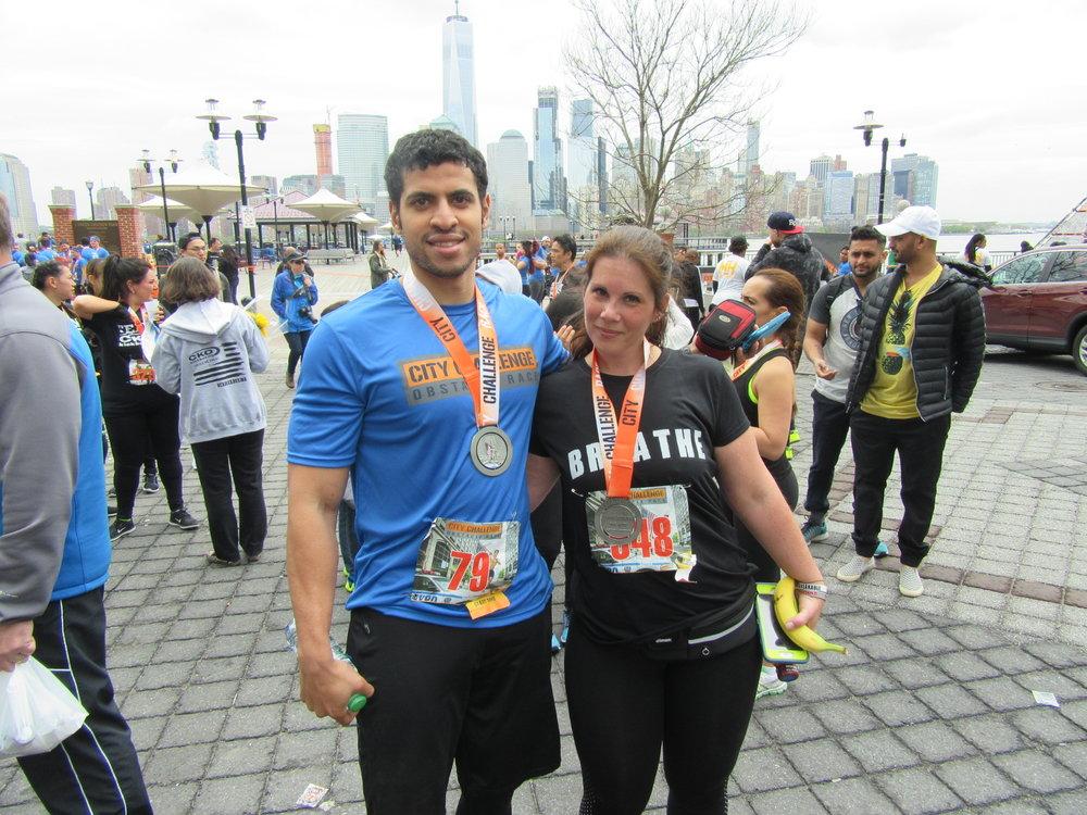 Myself and Tara Skinner, OCR athlete and Mud Run Guide contributor.