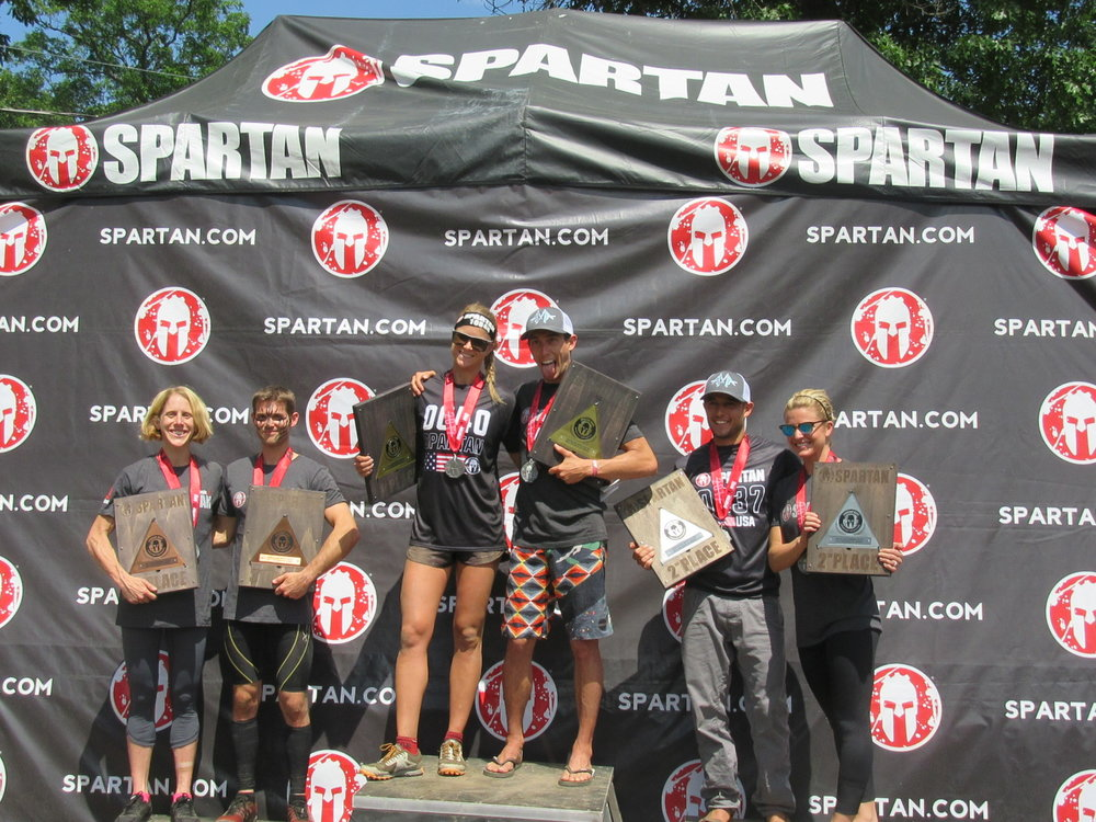 Elite Winners of 2017 Spartan Race Tri-State Sprint.