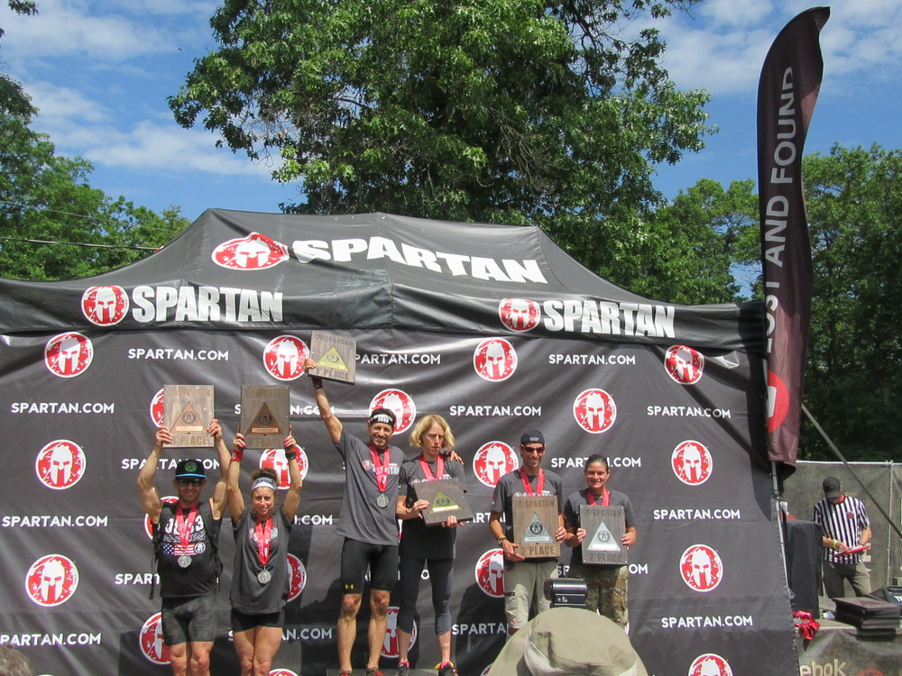 Elite Master's Winners at 2017 Spartan Race Tri-State Sprint.