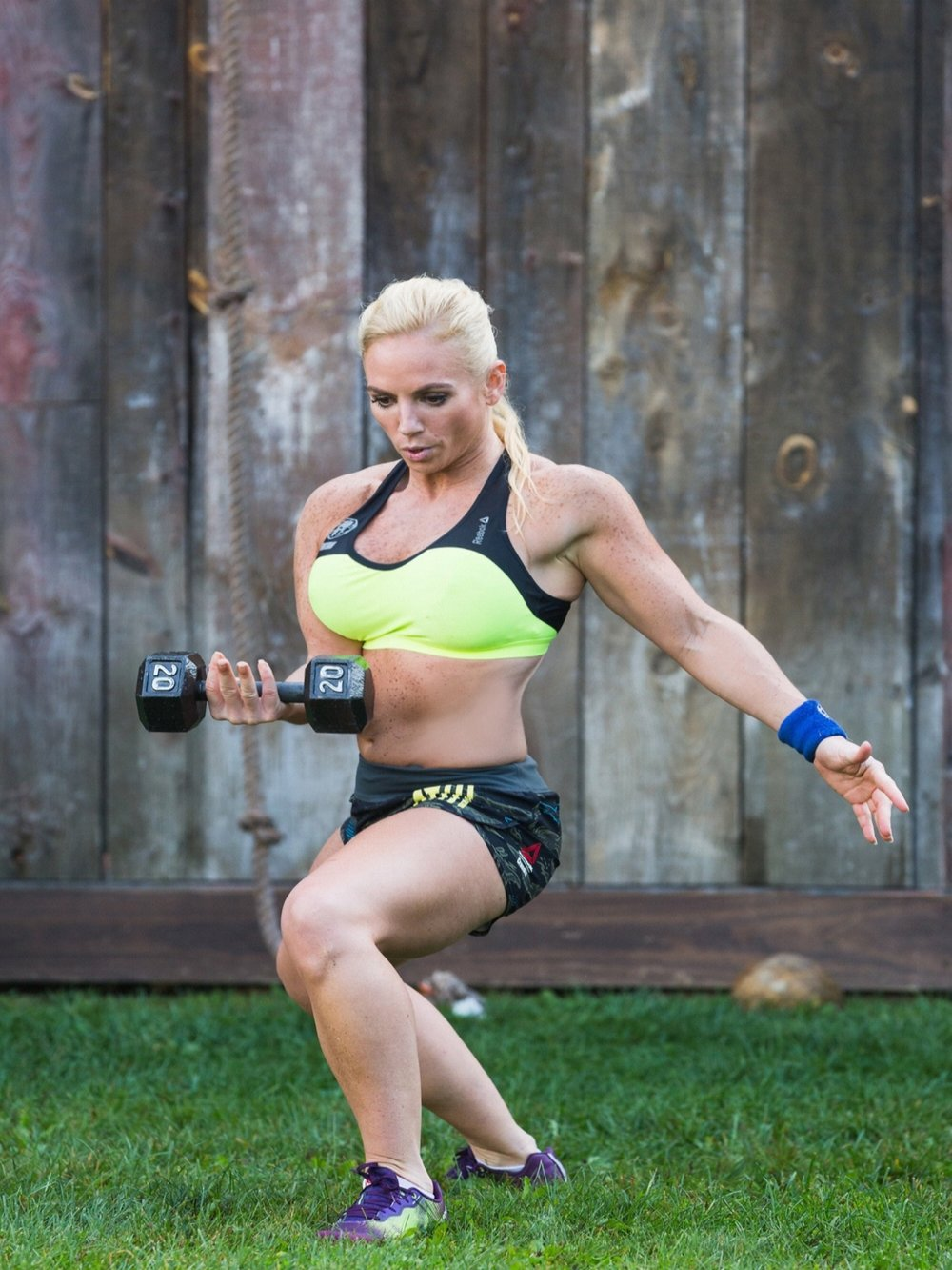 Spartan SGX Coach and Daily Burn Spartan Cast Member Madeline Dolente