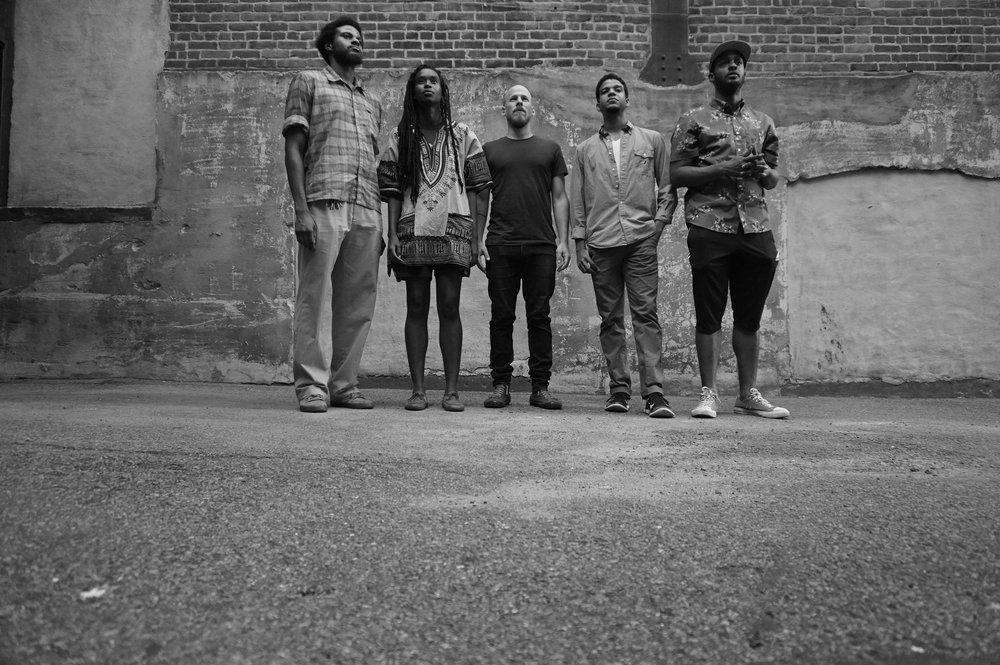 IRREVERSIBLE ENTANGLEMENTS - Phila/NYC/DC // 2015-Camae Ayewa - voiceKeir Neuringer - saxophoneAquiles Navarro - trumpetLuke Stewart - bassTcheser Holmes - drums
