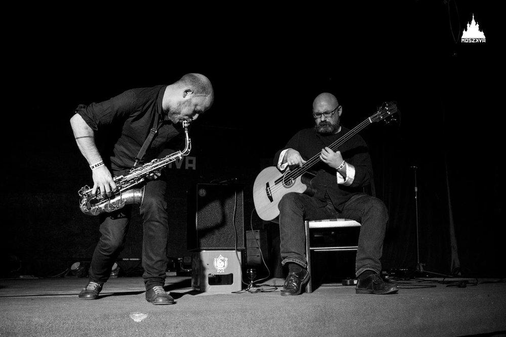 MAZUR / NEURINGER - Phila/Krakow // 1999-Keir Neuringer - saxophoneRafal Mazur - acoustic bass guitar