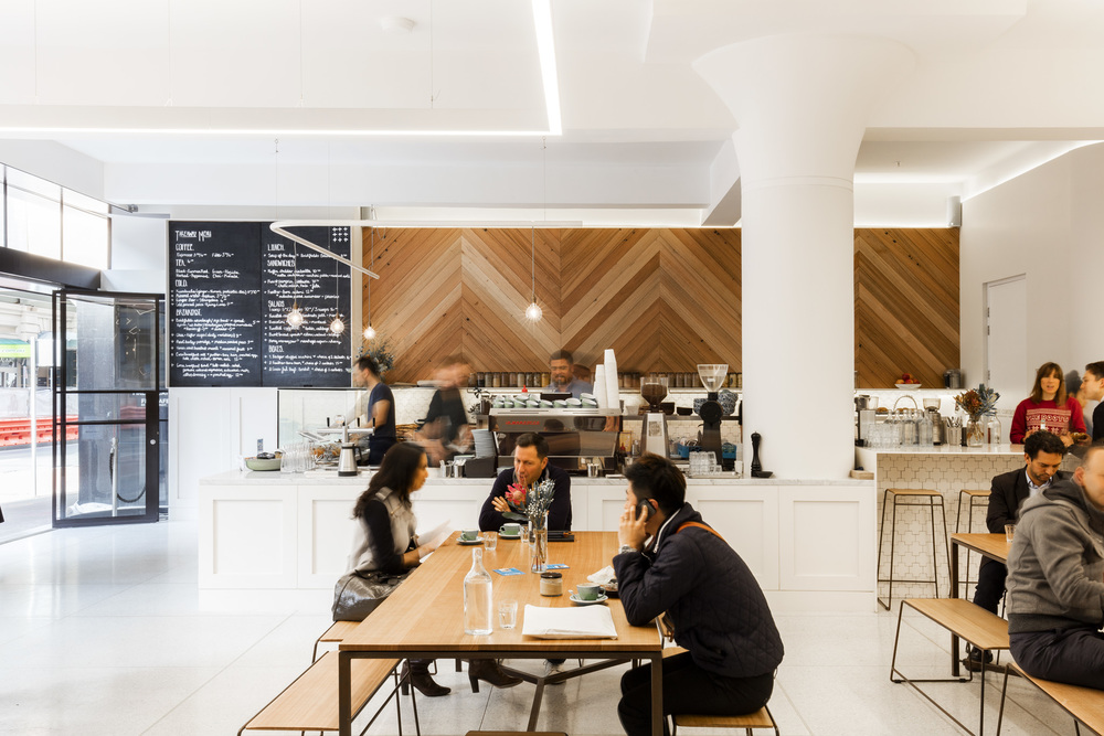 Cross Eatery by Perspective Projects