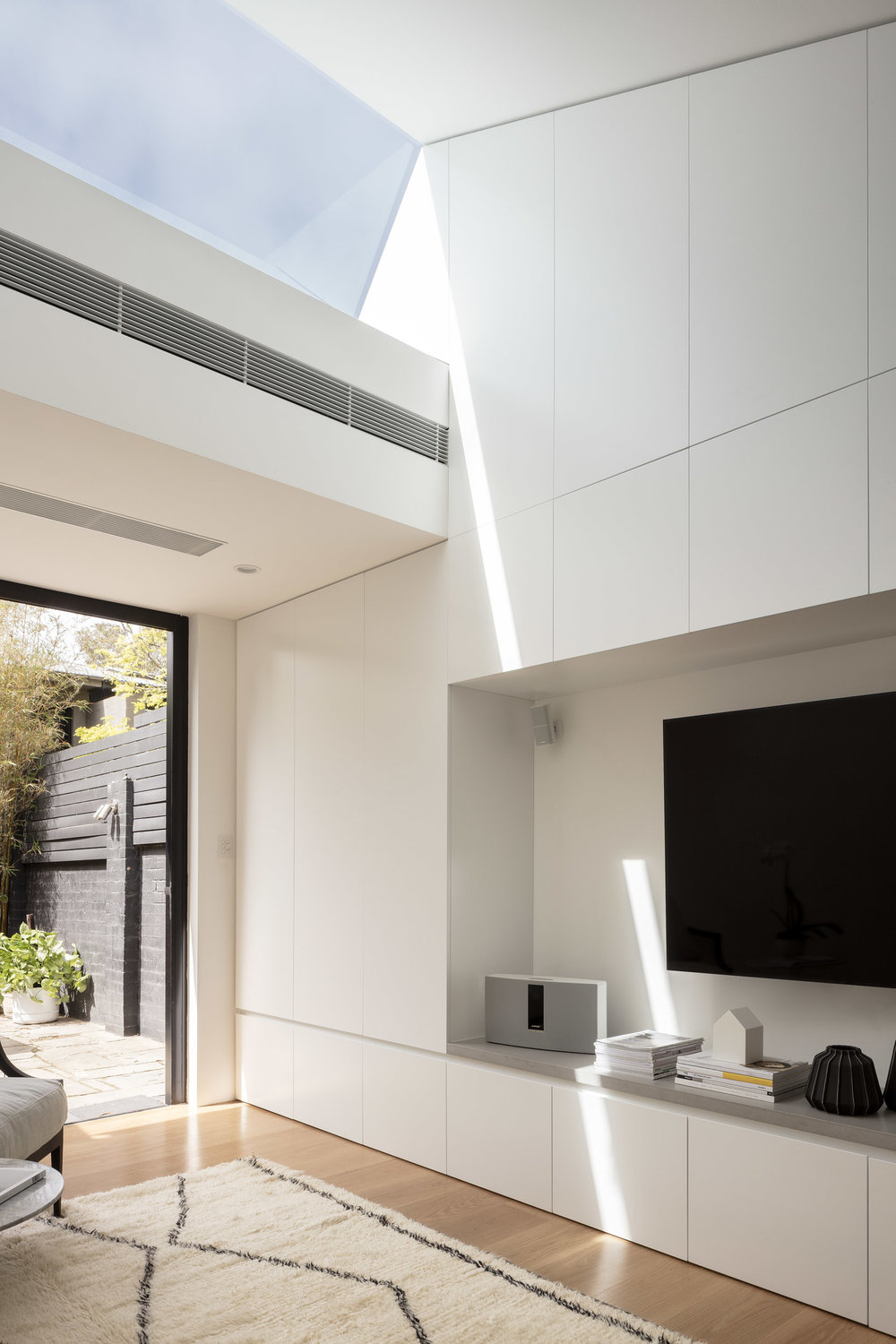 Skylight House by Josephine Hurley Architects