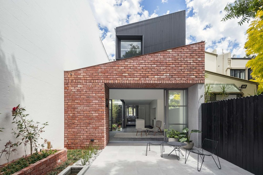 Glebe Red by Benn & Penna Architects