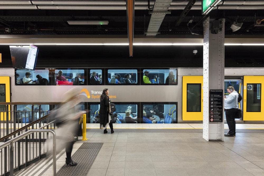 Wynyard Station by Cox Architecture