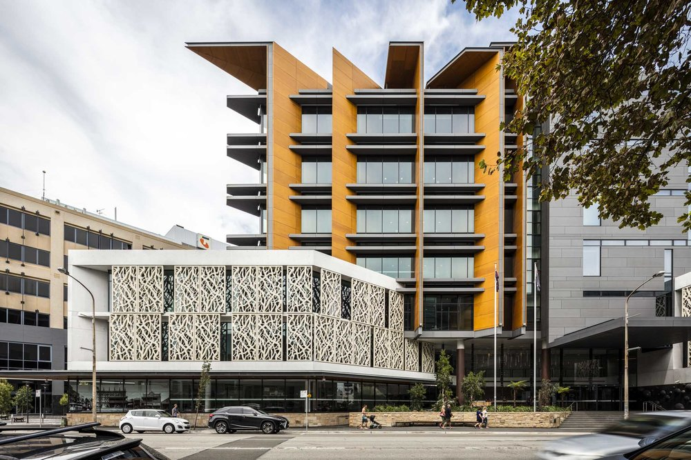 Newcastle Court House by Cox Architecture