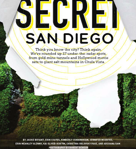 San Diego Magazine, September 2016