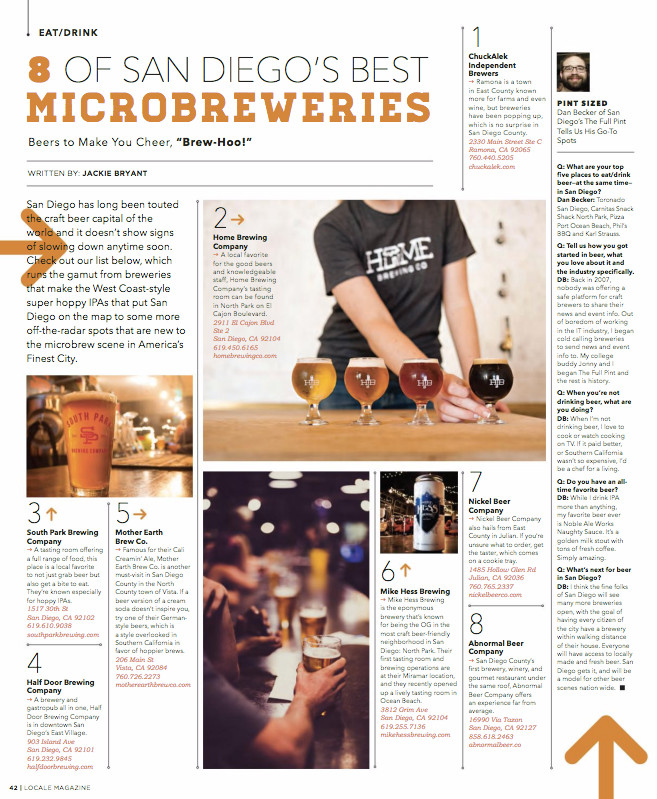 Locale Magazine, December 2016