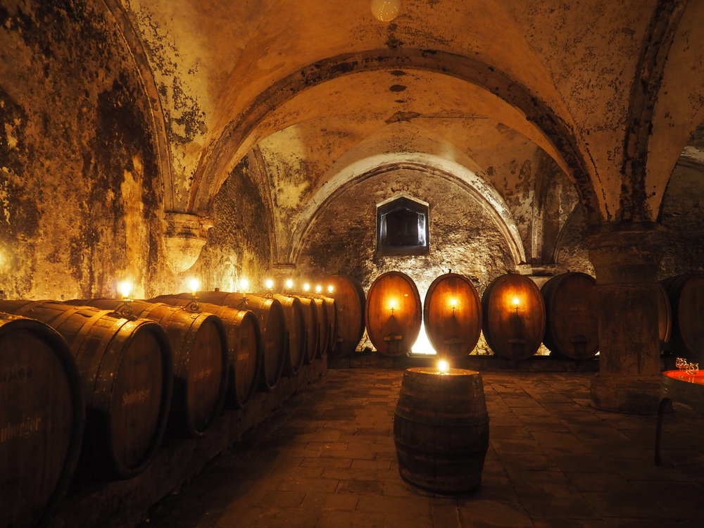 Kloster Eberbach's cellar by Jackie Bryant