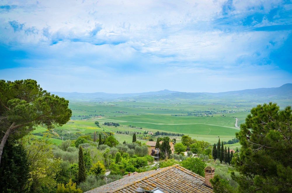 Views from Pienza
