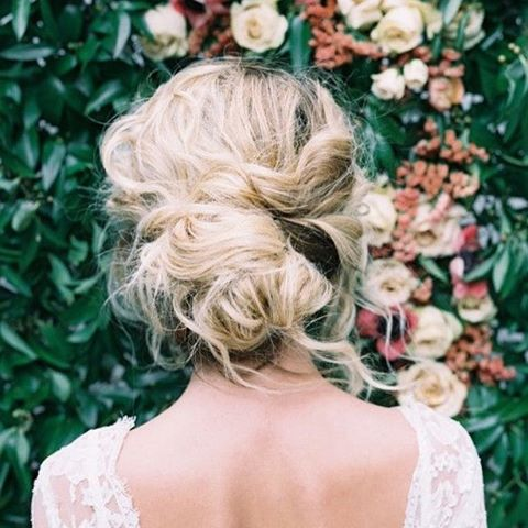 That HAIR. - Source - weddingsparrow.co.uk - #weddinginspo #updo #trousled #weddinghair #inviteemporium