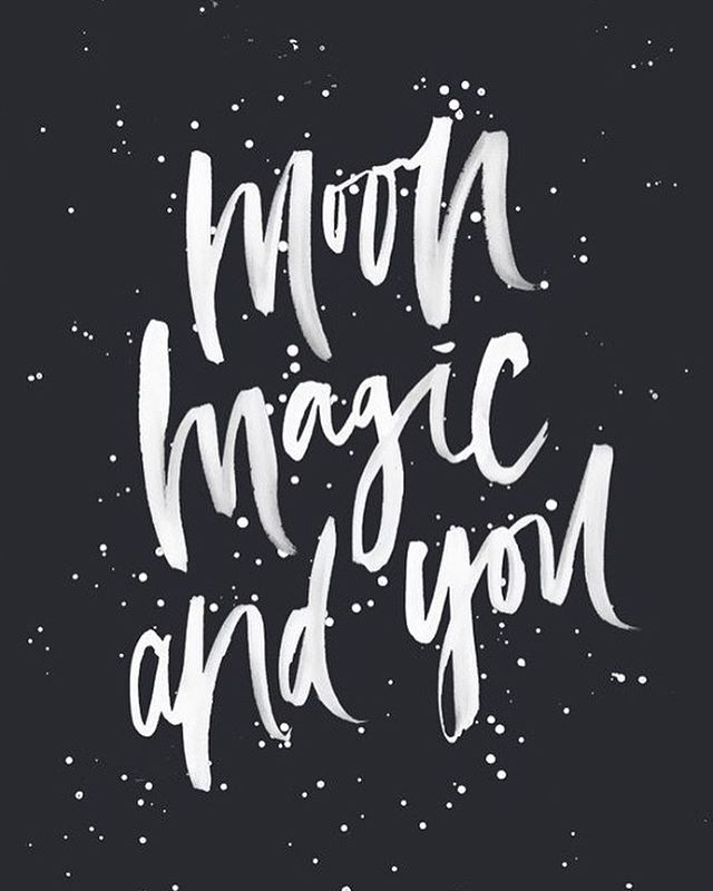 moon, magic and you. #always - Rg: @corinanika