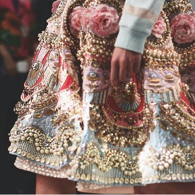 Busy as a beaded skirt. New designs coming soon. #paperlove #inviteemporium 📷 @manisharorafashion